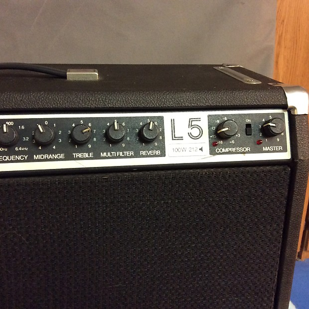 lab series l5 1980 39 s black solid state amp made famous by bb reverb. Black Bedroom Furniture Sets. Home Design Ideas