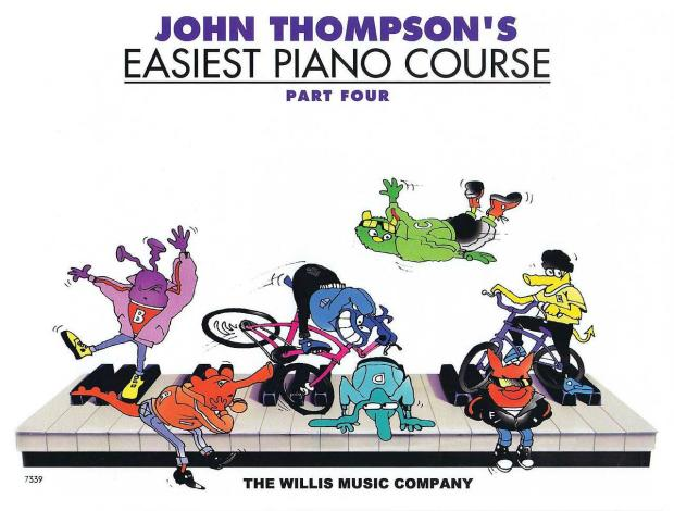 John Thompson S Easiest Piano Course Part 4 Book Only