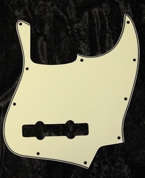 squier vintage modified jazz bass v 5 string pickguard 3 ply reverb. Black Bedroom Furniture Sets. Home Design Ideas