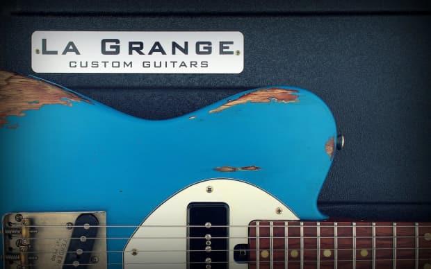 La grange guitars ocean blue classic t 2016 reverb - How to play la grange on acoustic guitar ...