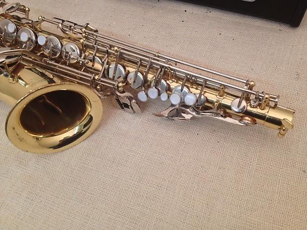 Yamaha yas 23 student alto saxophone w case reverb for Yamaha student saxophone