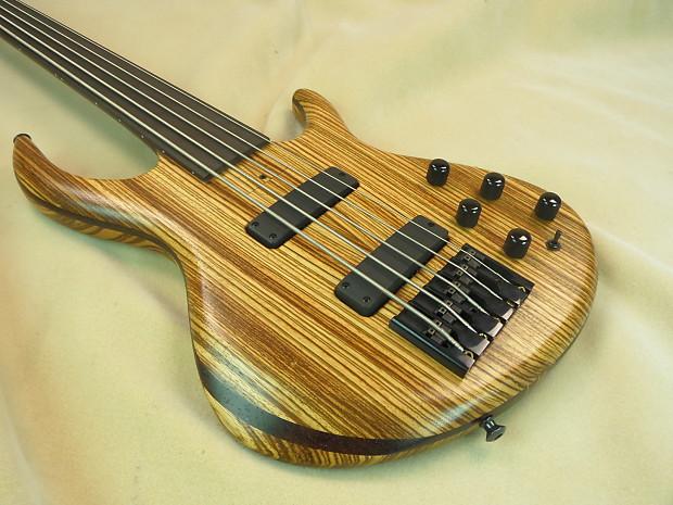 tobias signature 5 string custom fretless bass guitar reverb. Black Bedroom Furniture Sets. Home Design Ideas
