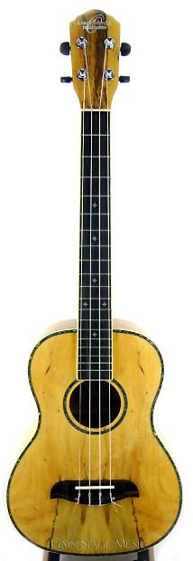 oscar schmidt ou57 ukulele baritone spalted mango reverb. Black Bedroom Furniture Sets. Home Design Ideas