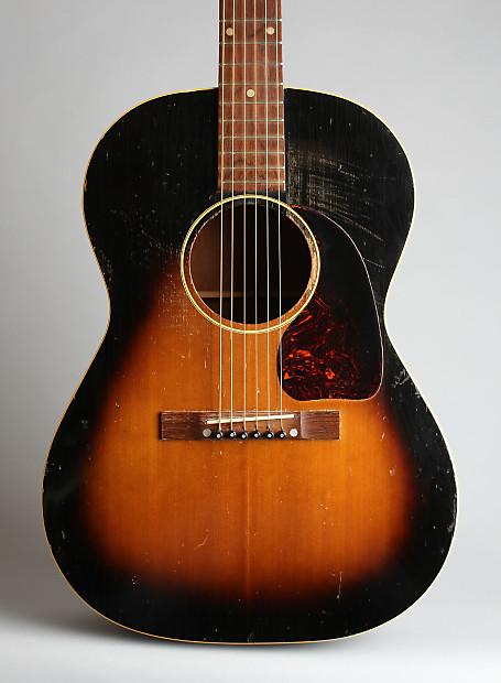 Gibson Lg 1 Flat Top Acoustic Guitar C 1952 Black Reverb