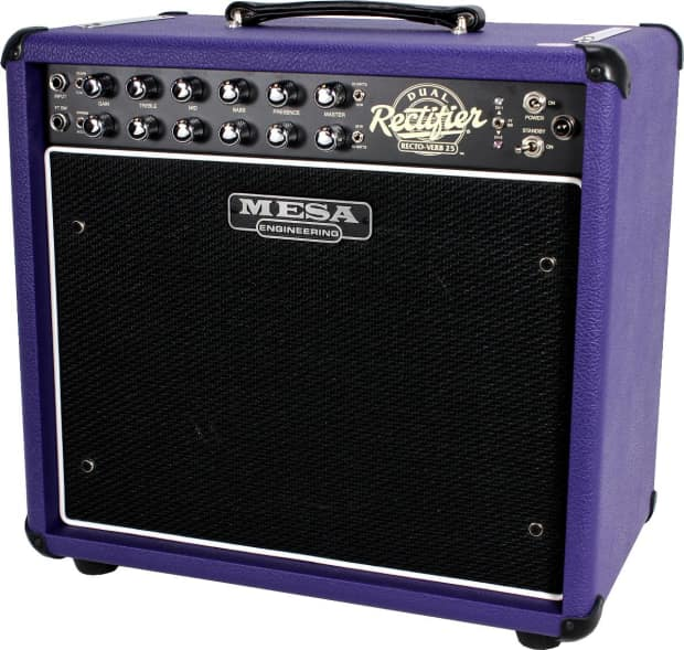 mesa boogie rectoverb 25 combo purple reverb