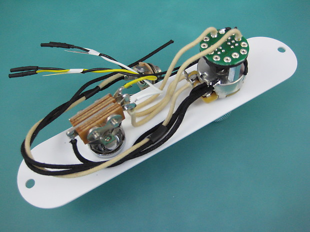 custom wiring harness ford 7 3 sel engine custom wiring harness pickup telecaster cabronita/jazzmaster boracha custom shop wiring   reverb #14