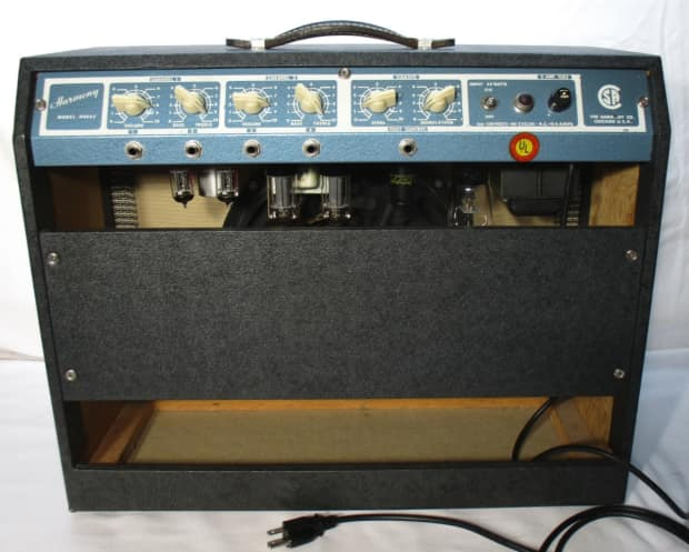 Rare1962 Harmony H306c Lectrolab R600 Handwired Amplfier