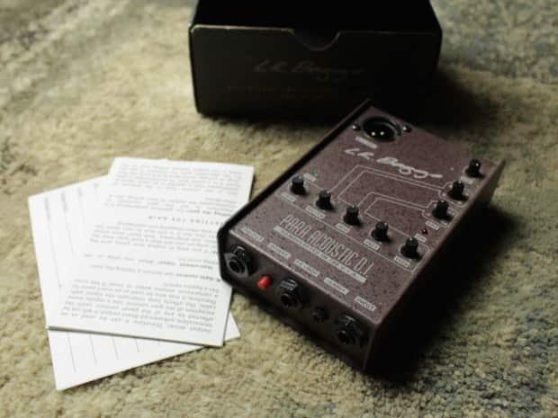LR Baggs M1 Passive Soundhole Pickup + Para Acoustic DI