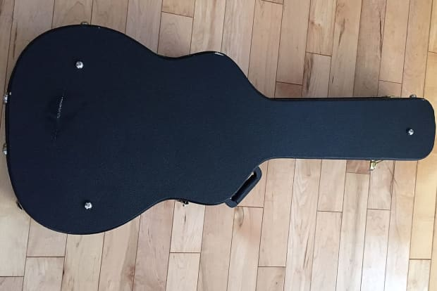 tkl hard case for auditorium size acoustic guitar reverb