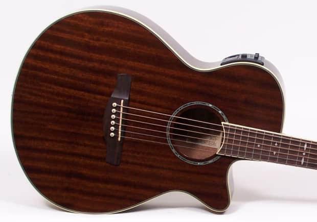 ibanez aeg12ii nmh mahogany top acoustic electric guitar reverb. Black Bedroom Furniture Sets. Home Design Ideas