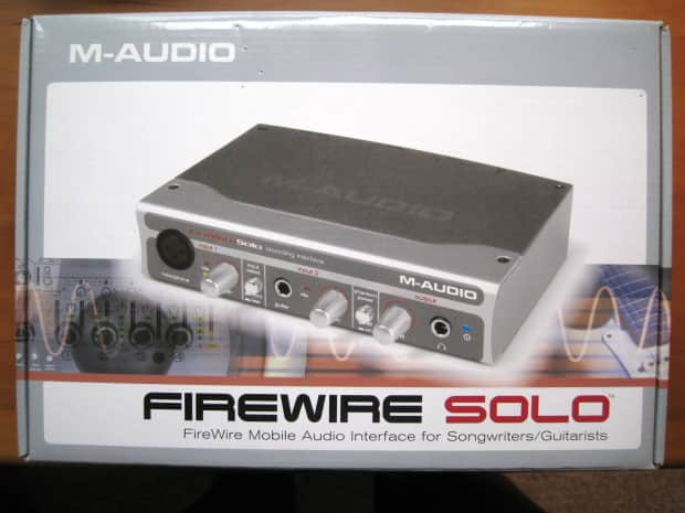 m audio firewire solo in excellent condition reverb. Black Bedroom Furniture Sets. Home Design Ideas