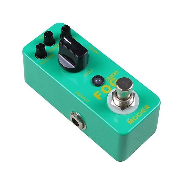 mooer fog micro bass guitar fuzz effects pedal true bypass reverb. Black Bedroom Furniture Sets. Home Design Ideas