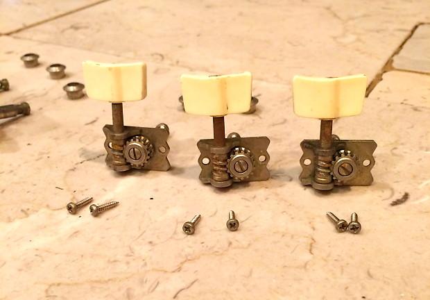 vintage 50 39 s 60 39 s 3x3 van ghent tuners ferrules screws reverb. Black Bedroom Furniture Sets. Home Design Ideas