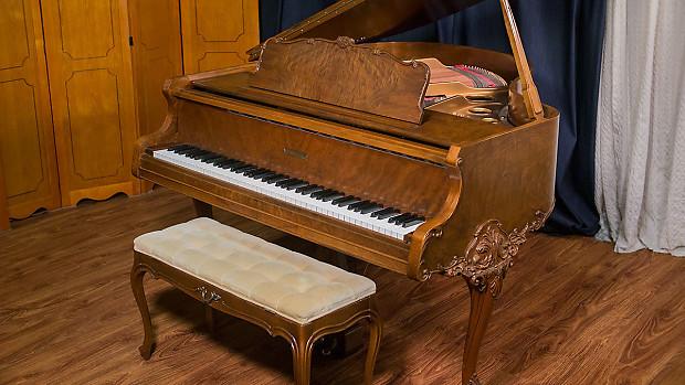 Gulbransen art case baby grand piano made in usa 1927 for Grandi case a un piano