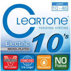 Cleartone .010 .046 Light Electric Guitar Strings image