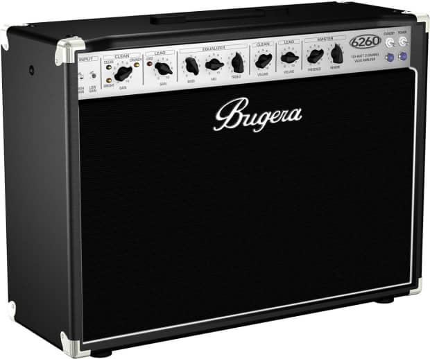 bugera 6260 212 120w 2 channel dual 12 tube valve combo. Black Bedroom Furniture Sets. Home Design Ideas