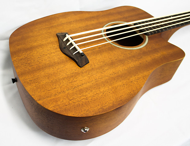 gold tone microbass 25 fl fretless 2014 25 scale acoustic reverb. Black Bedroom Furniture Sets. Home Design Ideas