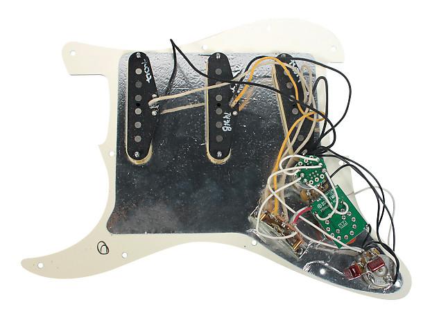 fender deluxe roadhouse stratocaster strat loaded pickguard reverb. Black Bedroom Furniture Sets. Home Design Ideas