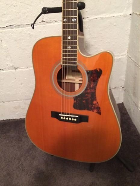 Gibson Epiphone Acoustic Guitar : gibson epiphone masterbilt dr 500mce acoustic electric guitar reverb ~ Vivirlamusica.com Haus und Dekorationen