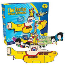 Beatles Yellow Submarine 600 Piece Puzzle image
