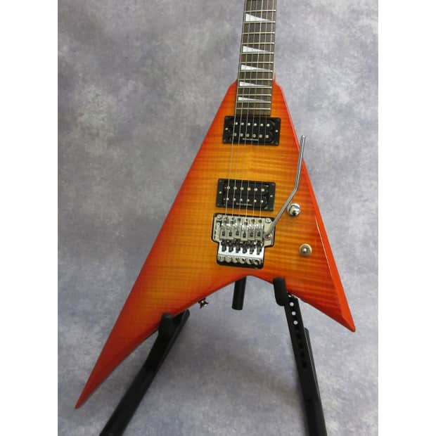 jackson rx10d randy rhoads electric guitar w case flame top reverb. Black Bedroom Furniture Sets. Home Design Ideas