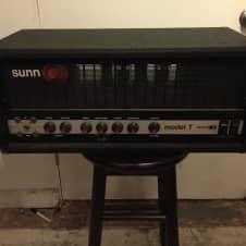 Sunn Model T 2nd Generation Red Knob Version image
