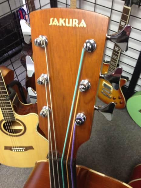 A1 Auto Sales >> Sakura Guitarrón Mexicano Mariachi Acoustic Fretless Bass ...
