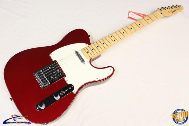fender standard telecaster candy apple red mim new 27230 reverb. Black Bedroom Furniture Sets. Home Design Ideas