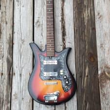 Vintage Teisco ET-200 Sunburst Electric Guitar image