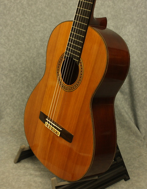 Yamaha cg 150s solid top classical guitar reverb for Yamaha solid top