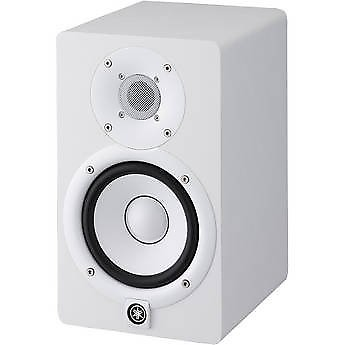 yamaha hs5 w 5 inch powered studio monitor white pair