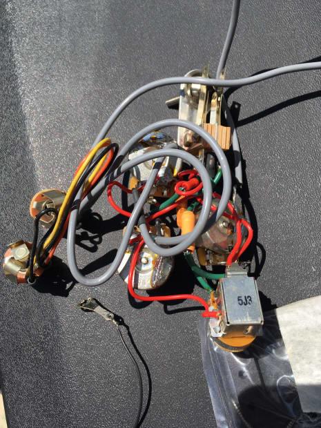 rickenbacker 4003 and wiring 2006 chrome reverb