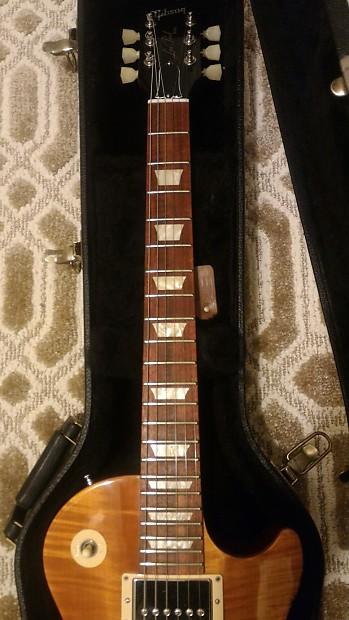 Gibson gary moore les paul 2013 lemon burst reverb - Gibson gary moore ...