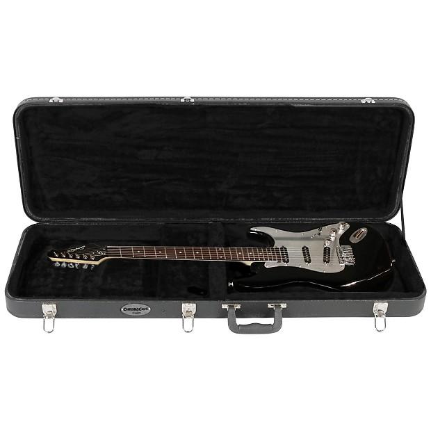 Hard Shell Guitar Case : chromacast guitars4cancer hard shell electric guitar case reverb ~ Vivirlamusica.com Haus und Dekorationen