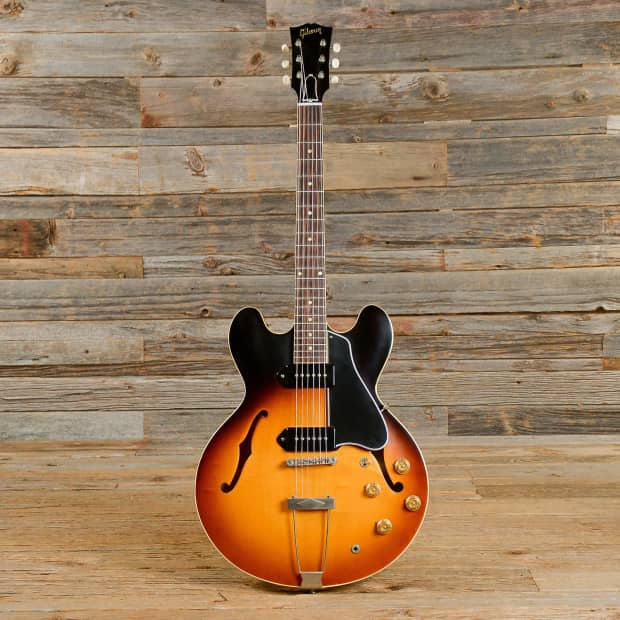 gibson 39 59 es 330 semi hollow body electric guitar reverb. Black Bedroom Furniture Sets. Home Design Ideas