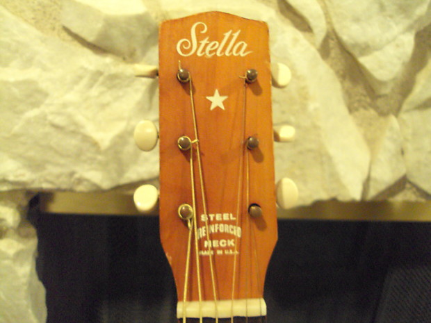 Stella Harmony Parlor Acoustic Guitar 89 Starting Price