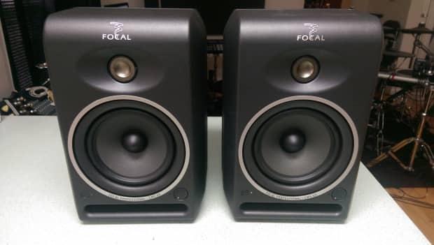 focal cms 65 studio monitors pair 1st generation reverb. Black Bedroom Furniture Sets. Home Design Ideas