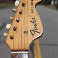<p>1969 Fender Palomino Acoustic Guitar</p>  for sale