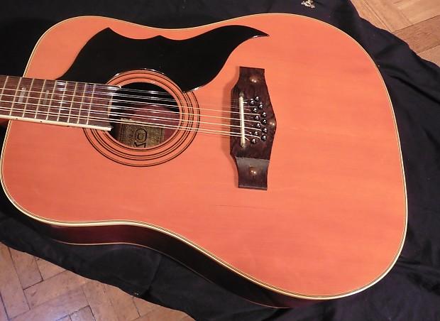 good vintage eko ranger 12 string acoustic guitar pro set reverb. Black Bedroom Furniture Sets. Home Design Ideas