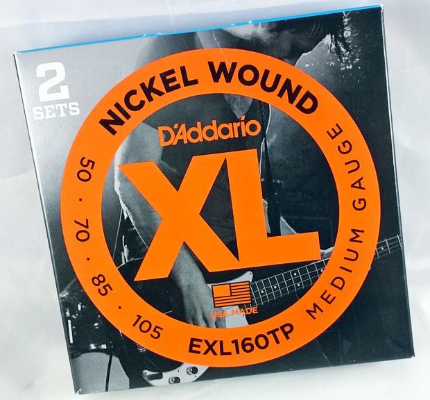 D'Addario EXL160TP