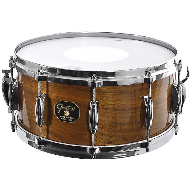 gretsch usa custom g 5000 solid walnut snare drum reverb. Black Bedroom Furniture Sets. Home Design Ideas