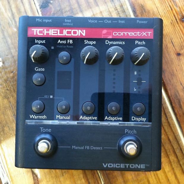 Voicetone Correct Xt : tc helicon voicetone correct xt pitch correction pedal reverb ~ Hamham.info Haus und Dekorationen
