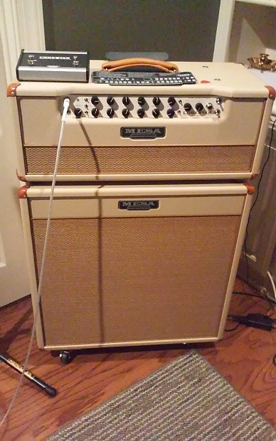 mesa boogie lone star special head and matched 4 x 10 reverb. Black Bedroom Furniture Sets. Home Design Ideas