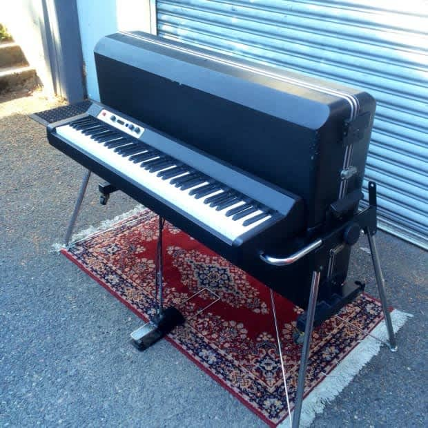 vintage kawai ep 608 1980 black electric piano original mij reverb. Black Bedroom Furniture Sets. Home Design Ideas