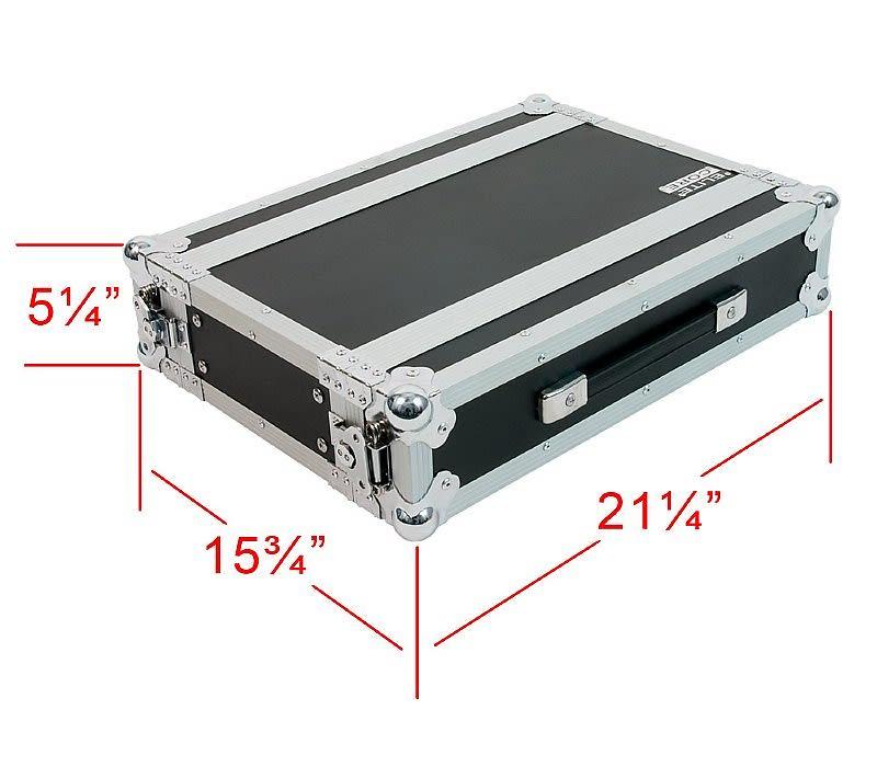 OSP RC2U-10 2 Space ATA Effects Rack