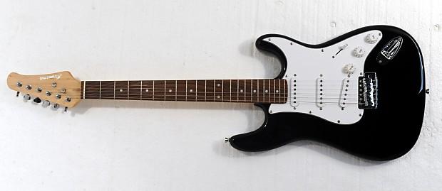 electric guitar bolt on neck black reverb. Black Bedroom Furniture Sets. Home Design Ideas