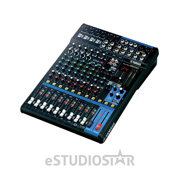 yamaha mg12xu 12 channel usb mixing console with built in reverb. Black Bedroom Furniture Sets. Home Design Ideas