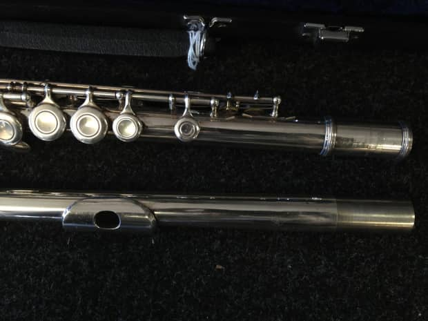 Yamaha student flute model 225sii with case reverb for Yamaha yfl 221 student flute