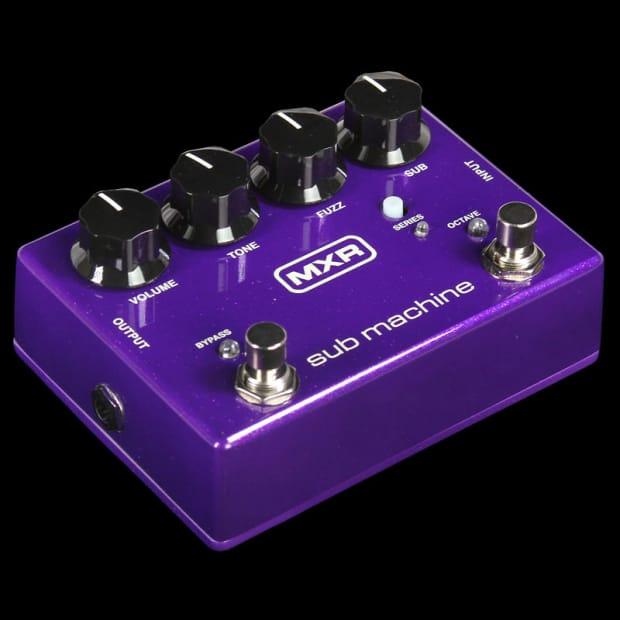 mxr sub machine sub octave fuzz effects pedal reverb. Black Bedroom Furniture Sets. Home Design Ideas