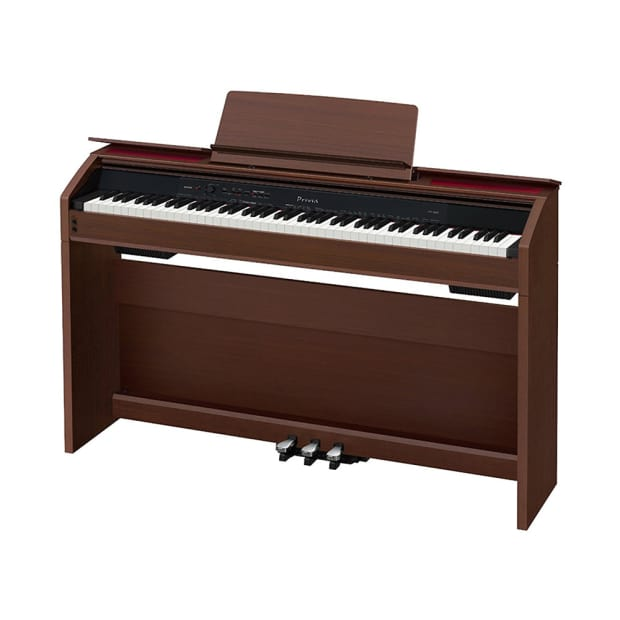 casio privia px 860 88 key digital piano keyboard w stand reverb. Black Bedroom Furniture Sets. Home Design Ideas